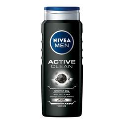 Gel de dus Nivea Men Active Clean, 500 ml image