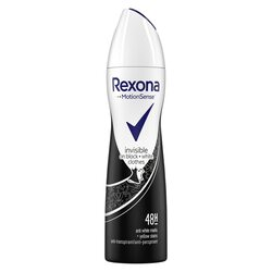 Deodorant antiperspirant spray Rexona Invisible Black&White, 150 ml image