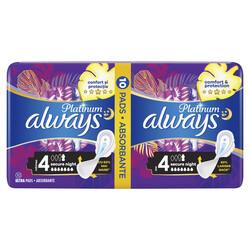 Absorbante Always Platinum Secure Night, 10 buc image