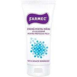 Crema pentru maini Farmec cu glicerina pentru protectia pielii, 100 ml image