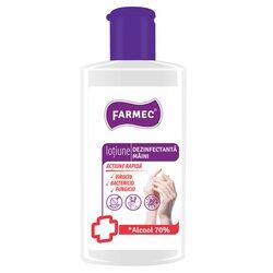 Lotiune igienizanta pentru maini Farmec, cu 70% alcool, efect antibacterian, 150 ml image