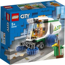 LEGO City Great Vehicles - Masina de maturat strada 60249, 89 piese image