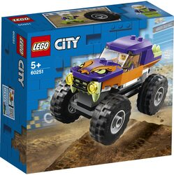 LEGO City Great Vehicles - Camion gigant 60251, 55 piese image