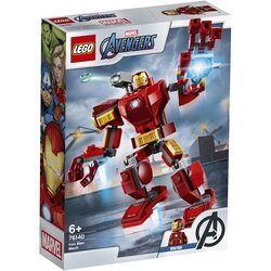 LEGO Super Heroes - Robot Iron Man 76140, 148 piese image