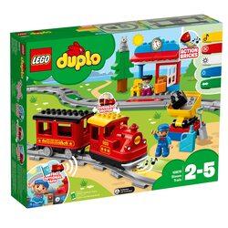LEGO DUPLO - Tren cu aburi 10874, 59 piese image