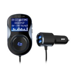 Modulator FM Tellur FMT-B4, bluetooth, microSD, USB QuickCharge 3.0, Negru image