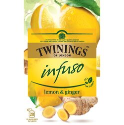 Ceai Twinings - Infuzie Lamaie si Ghimbir, 20 pliculete, 40 gr. image