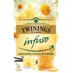 Ceai Twinings - Infuzie Musetel, Miere si Vanilie, 20 pliculete,30 gr image