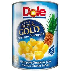 Bucati de ananas in suc topical gold Dole, 567g image
