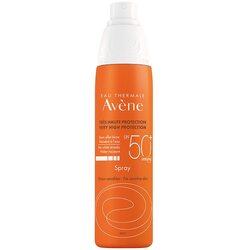 Spray cu protectie solara Avene SPF 50+ pentru ten sensibil, 200 ml image
