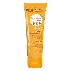 Crema de fata cu protectie solara Bioderma Photoderm Max SPF 50+ pentru ten sensibil, 40 ml image