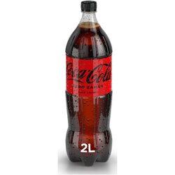 Bautura Carbogazoasa Coca-Cola, Zero Zahar, Pet, 2l image