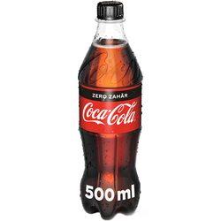 Bautura Carbogazoasa Coca-Cola Zero Zahar, Pet, 0.5l image