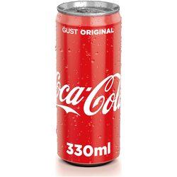 Bautura Carbogazoasa Coca-Cola, Gust Original Doza, 0.33l image