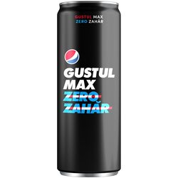 Pepsi Max - zero zahar - doza 0.33L image
