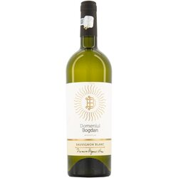 Vin Alb Domeniul Bogdan Organic Sauvignon Blanc, Sec, 0.75l image