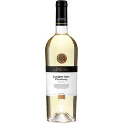 Vin alb Domeniile Davidescu, Sauvignon Blanc & Chardonnay, sec 0.75l image