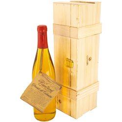 Vin Alb de Vinoteca Grasa de Cotnari, 2005, Dulce, 12%, 0.75l, Cutie de lemn image