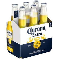Bere Blonda Corona Extra, Sticla, 6 x 0.355l image