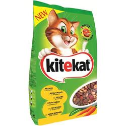 Hrana uscata pentru pisici Kitekat, Pui & Legume, 1.8Kg image