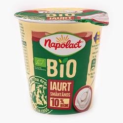Iaurt smantanos 10% grasime 140g Napolact Bio image