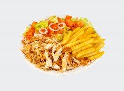 Kebab de pui cu cartofi  image