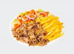 Kebab de vita cu cartofi image