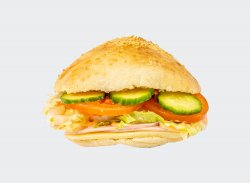 Sandwich cu sunca si cascaval image