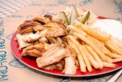 Shaorma porc farfurie image