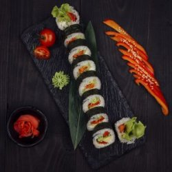 Vegetarian maki (de post) image
