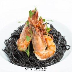Black pasta image