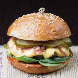 Fondue burger delight image