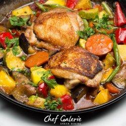 Mediterranean chicken image