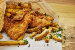 English Fish & Chips image