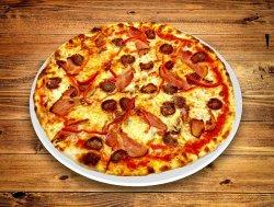 Pizza cu cârnați 35 cm  image