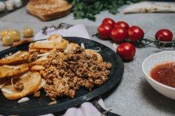 Cartofi dacici cu carne de vită image