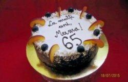 "Tort aniversar ""65"" image"