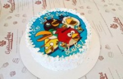 """Tort """"Angry Birds"""" image"""