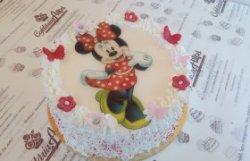 Tort Minnie Mouse cu buline image