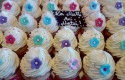 Cupcakes cu cremă de ciocolată image