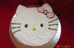 """Tort """"Hello Kitty"""" image"""