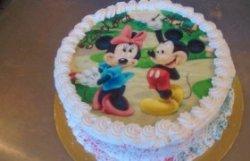 """Tort """"Minnie și Mickey"""" image"""
