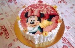 Tort Minnie roz image
