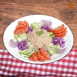 Salată diet cu ton image