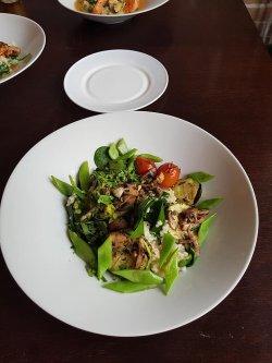 Risotto cu legume la grătar image