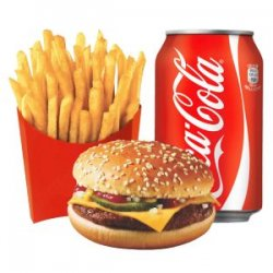 Meniu Cheeseburger pui image