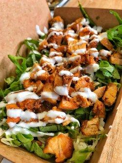 Burrito box cu pui la grill image