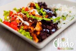 Burrito box vegetarian image