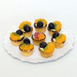 Mini tartă cu fructe image