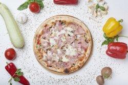 Pizza Prosciutto e Funghi -  24cm  image